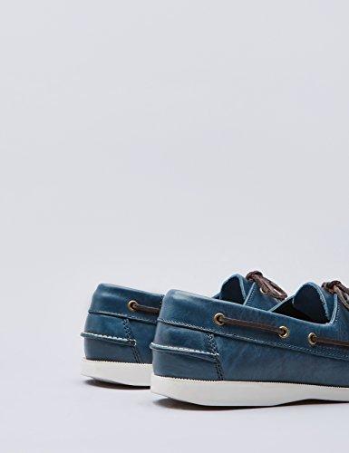 FIND Zapatos Náuticos Hombre Azul