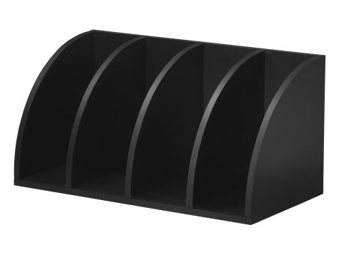 Foremost 328006 Modular Corner Radius Cube Storage System, Black by Foremost (Image #2)