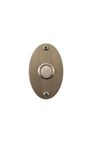 Oval Stainless Steel Doorbell by Waterwood Hardware (Image #1)