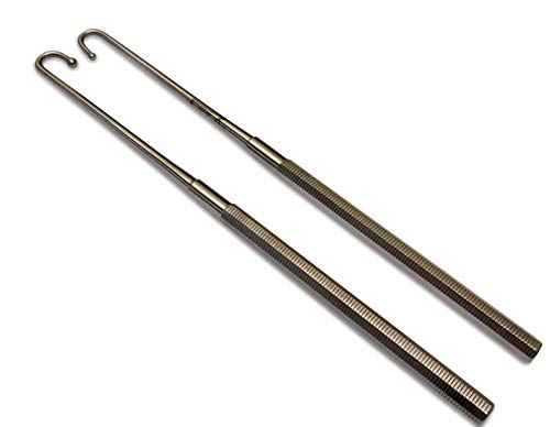 (SiS EQUINOX Veterinary Spay Hook Snook for Small Animals Bitch Spaying Hook Standard Ball)