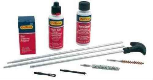 Outers .243/6mm-6.5mm Caliber Aluminum Rifle Rod Cleaning Kit (Hard - Mm Rifle 6 Caliber