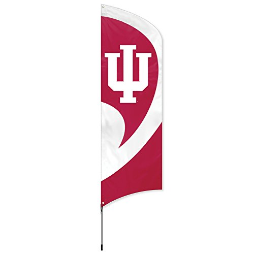 Party Animal NCAA Indiana Hoosiers College Tailgating Flag Kit