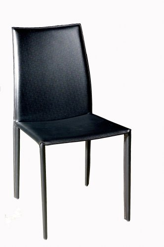 Baxton Studio Delia Leather Dining Chair