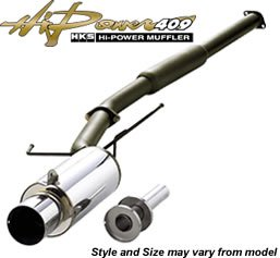 HKS 3203-EX020 Hi-Power Exhaust (Hks Exhaust Carbon)