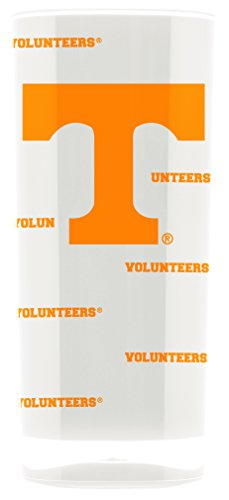 (Duck House NCAA Tennessee Volunteers 16oz Insulated Acrylic Square Tumbler)
