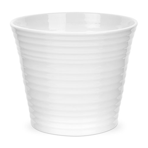 Portmeirion Sophie Conran White Flower Pot