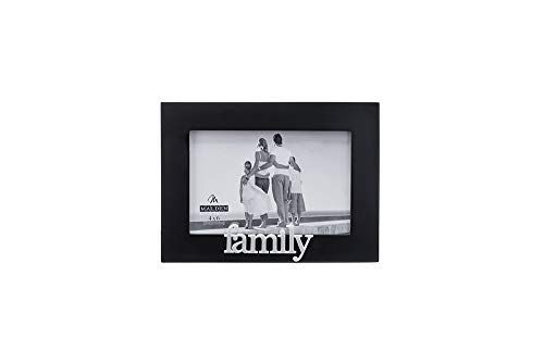 Designs Family Expressions Picture Frame, 4x6, Black ()