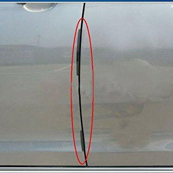 TOOGOO(R) 8pcs Car Door Edge Guards Trim Molding Protection Strip Scratch Protector Black by TOOGOO(R) (Image #2)