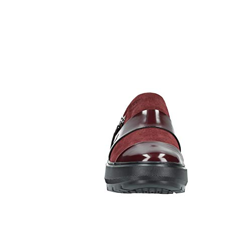 Donna Kaula Infilare Geox C7357 Sneaker Rosso dk F Burgundy D wqSXU