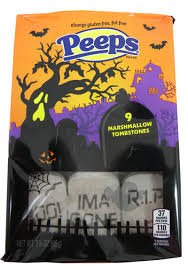 Peeps Limited Edition Marshmallow Tombstones - 9 Count
