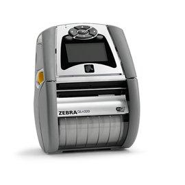 Zebra QH3-AUNA0M00-00 QLN320 Direct Thermal Printer - Monochrome - Portable - Label Print - 2.90 inch Print Width - Peel Facility - 3 in/s Mono - 203 dpi - 128 MB - Bluetooth - Wireless LAN - USB - Se