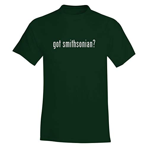 The Town Butler got Smithsonian? - A Soft & Comfortable Men's T-Shirt, Forest, XXX-Large (Smithsonian Best Small Towns)