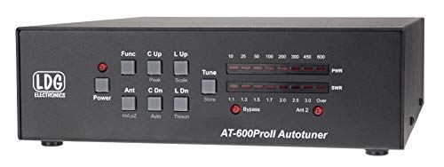 LDG Electronics AT-600PROII Automatic Antenna Tuner 1.8-54 MHz, 600 Watts, 2 Year Warranty