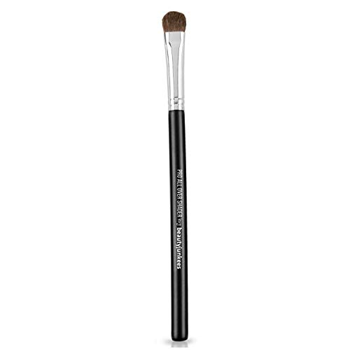 Eyeshadow Brush: pro All Over Shader Eye Makeup Brush with Dense Rounded Bristles to Pack Eye Shadow Over Entire Eyelid; Premium Quality (Synthetic)