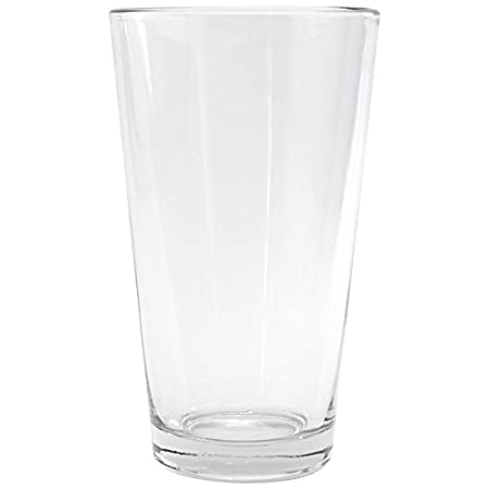 Anchor Hocking Pint Mixing Glass - Rim Tempered - 16 Oz, Set of 2