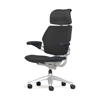 Amazoncom Freedom Chair by Humanscale Headrest Adv Arms Black