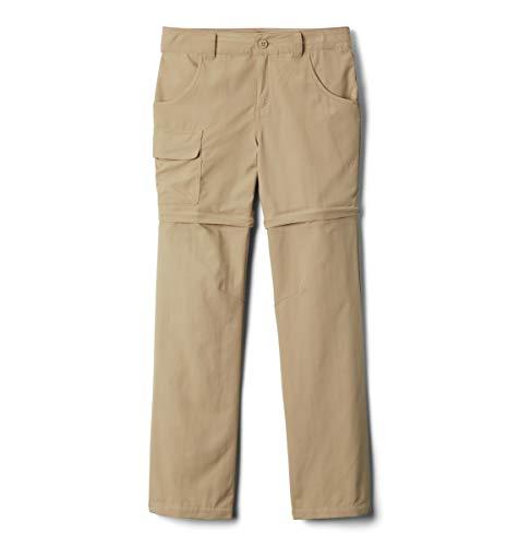 Columbia Youth Girls Silver Ridge III Convertible Pants, British Tan, Medium