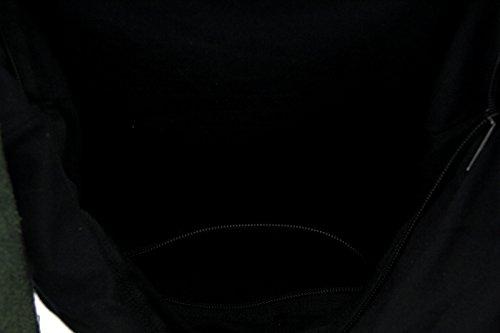 Zeckos - Bolso bandolera mujer verde