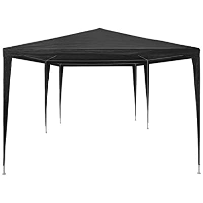 Festnight 10' x 20' Garden Outdoor Gazebo Canopy Pop Up Sun Steel Frame Shade Heavy Duty Patio Party Wedding Tent BBQ Camping Shelter Waterproof Pavilion Cater Events Black : Industrial & Scientific