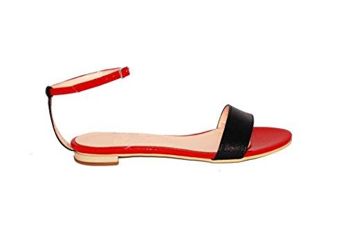 Sandali donna in pelle per l'estate scarpe RIPA shoes made in Italy - 55-200