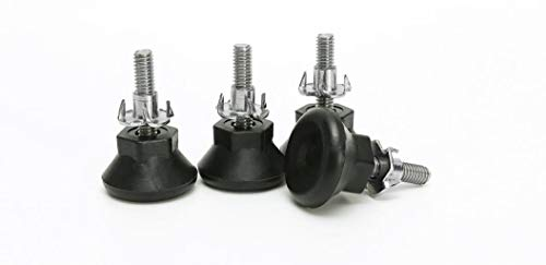 (Heavy Duty Height Adjustable Furniture Legs Leveler 304 Stainless Steel Heavy Duty Leveling (Set of 8) )