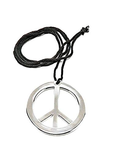 Peace Pendant - Rubie's Costume Co. Metal Peace Pendant