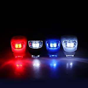 DK 3-Mode 2-LED Bicycle Front Light (Assortted Colors)£¨Delivery color£©(Yellow)