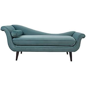 Amazon.com: Skyline Furniture Tufted Fainting Sofa, Velvet ...