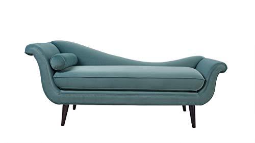 Prime Sandy Wilson Home S62071 R 894 Kai Chaise Sofa Arctic Blue Spiritservingveterans Wood Chair Design Ideas Spiritservingveteransorg