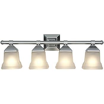 Portfolio 4 Light 6125 In Brushed Nickel Vanity Light Bar