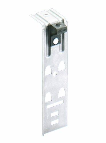 Panduit JMTRB38-1-X Single-Level Zinc Plated Steel Threaded Rod Bracket, Natural