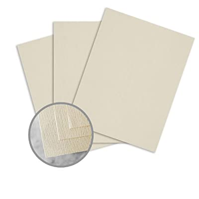 EAMES Painting Eames Natural White Paper - 8 1/2 x 11 in 24 lb Writing Canvas 30% Recycled 500 per Ream