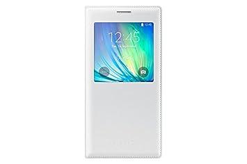 Samsung S-View - Funda para Samsung Galaxy A7, color blanco ...