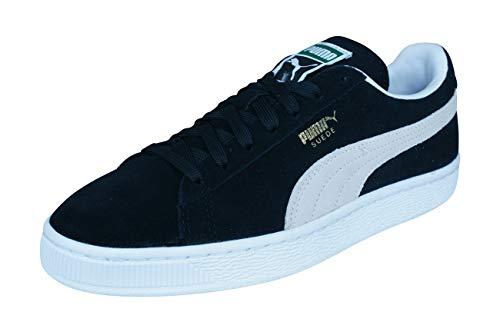 Suede Bianco Uomo Nero Puma Sneaker Classic WAUn7x11q