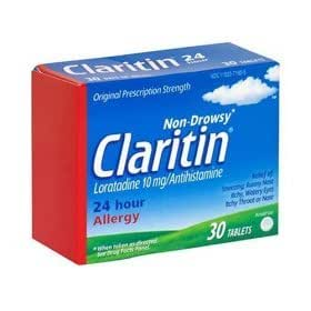 Claritin- 24 Hour Allergy Non Drowsey, 60 Tabs (2 Month Supply)
