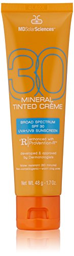 MDSolarSciences Mineral Tinted Crème Broad Spectrum SPF 30,1.7 oz. by MDSolarSciences