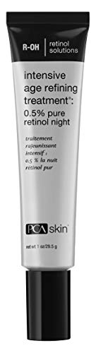 PCA SKIN Intensive Age Refining Treatment: 0.5% pure retinol night, Aging Skin Nighttime Treatment 1 ounce