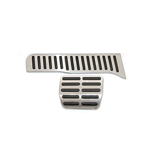 FFZ Parts Pedal Caps Stainless Steel Suitable for Q3 8U TDI TSI S-line Automatic Transmission