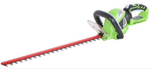 Greenworks Tools 22637T 40V Akku-Heckenschere 61cm Doppelmesser, 20mm Schnittkapazität (ohne Akku und Lader)