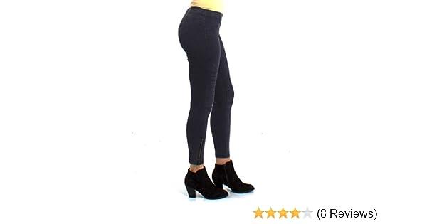 8751280c157b2 Beulah Moto Zip Leggings New Spring Colors: Yellow, Light Blue, Light Green  (Small, Midnight Blue) at Amazon Women's Clothing store: