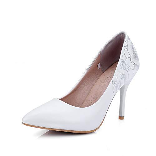 Sandales Compensées EU 5 Blanc AdeeSu SDC05609 Femme 36 Blanc 51qz7a