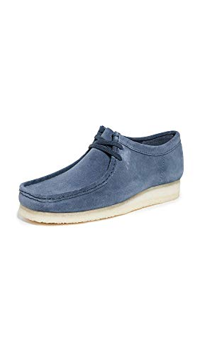 clarks wallabees blue - 1