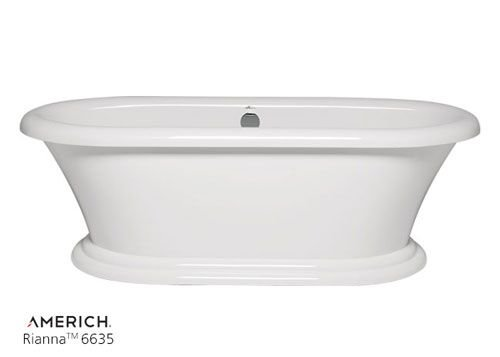 Rianna freestanding bathtub for Best soaker tub for the money