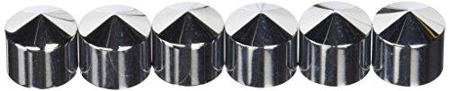 Kuryakyn 8693 Peaked Rocker Box Bolt Cover (Box Rocker Bolt Covers)
