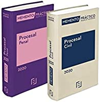 Pack Memento Procesal Civil 2020 + Memento