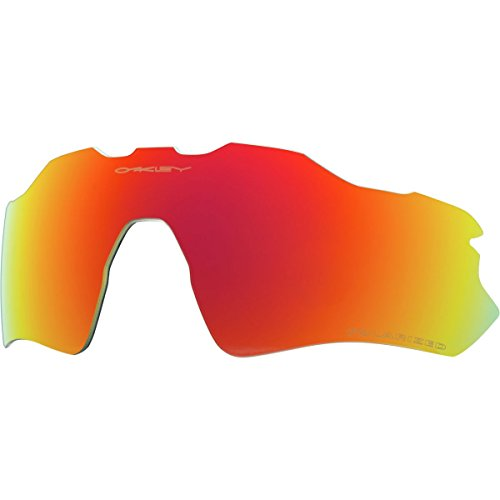 Ruby Iridium Lens (Oakley Radar EV Path Replacement Lens Ruby Iridium Polarized, One)