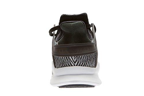 adidas EQT Support ADV, Scarpe da Ginnastica Unisex – Adulto Nero (Negbas/Negbas/Ftwbla)
