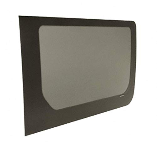 CRL 2007+ OEM Design 'All-Glass' Look Fixed Passenger Side Sliding Door 140 and 170 Wheel Base