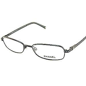New Chanel 2075-B 2075B 101 Swarovski Crystal Temple-Black Frame Eyeglasses