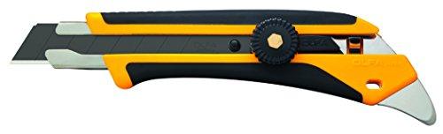 Olfa 1116110 L-5 Fiberglass Rubber Grip Ratchet-Lock Utility -